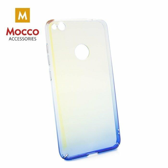 Mocco Gradient Back Case Plastikāta Apvalks Ar Krāsu Gradientu Priekš Samsung G955 Galaxy S8 Plus Caurspīdīgs - Lillā