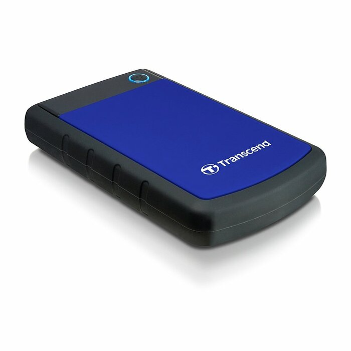 Transcend 1TB StoreJet 25H3 external hard drive 1000 GB Black, Blue