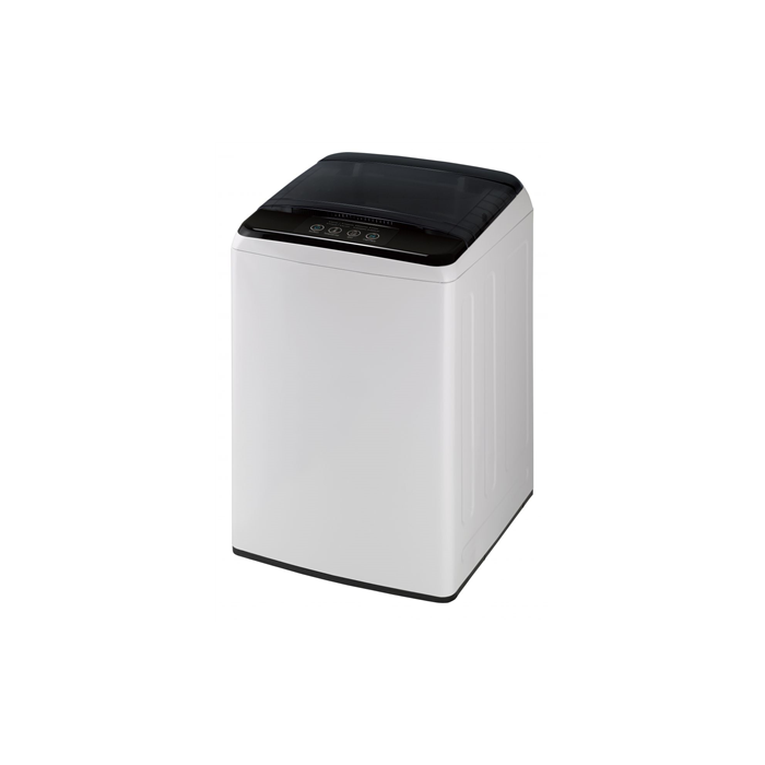 DAEWOO Washing machine WM-1710ELW Top loading, Washing capacity 6 kg, 700 RPM, A+, Depth 53.5 cm, Width 52.5 cm, White/ black, Semi-automatic, Display,