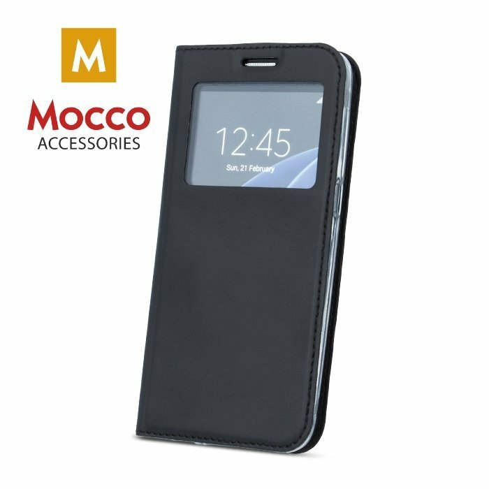 Mocco Smart Look Magnet Book Case With Window For Xiaomi Mi 5s Black