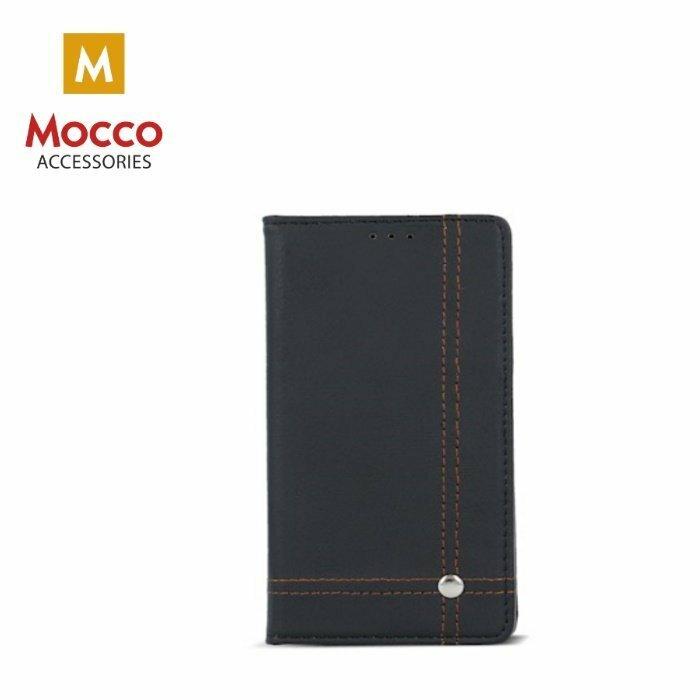 Mocco Smart Focus Book Case Grāmatveida Maks Telefonam Apple iPhone 5 / 5S / 5C / SE Melns / Zils