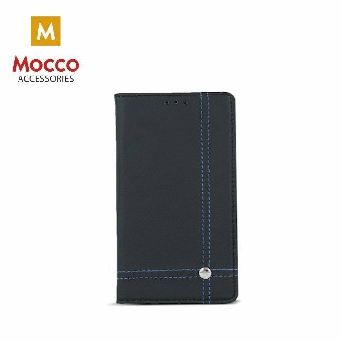 Mocco Smart Focus Book Case Grāmatveida Maks Telefonam LG K8 (2017) X240 / M240N Melns / Zils