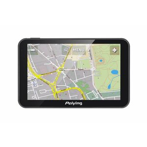 Satellite Navigation Peiying PY-GPS5014 with a map