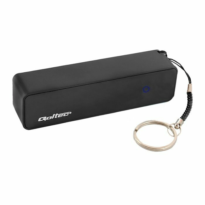 Qoltec 7655.BLACK power bank Lithium-Ion (Li-Ion) 2600 mAh