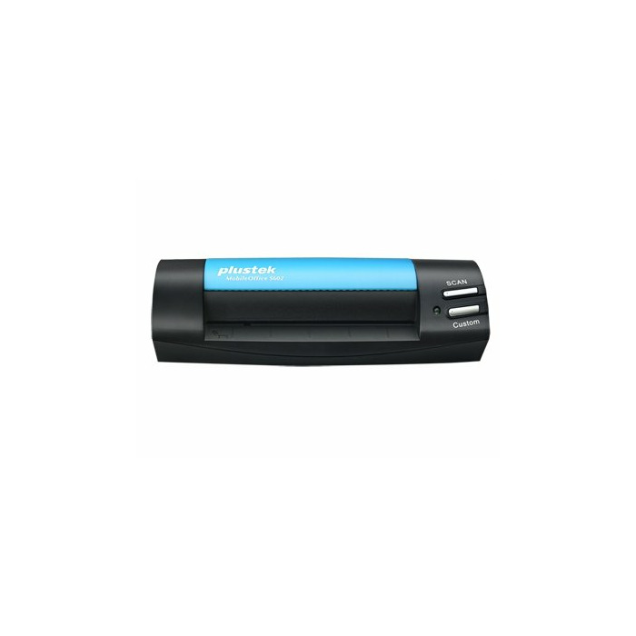 Plustek MobileOffice S602 Business card scanner 1200 x 1200 DPI A6 Black, Blue