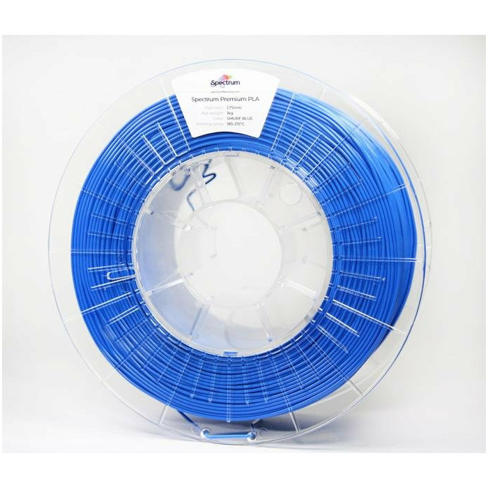 Filament SPECTRUM / PLA / SMURF BLUE / 1,75 mm / 1 kg