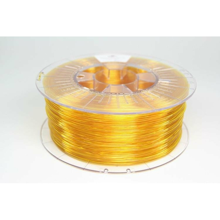 Filament SPECTRUM / PETG / TRANSPARENT YELLOW / 1,75 mm / 1 kg