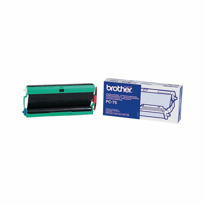 Brother PC-75 fax supply 144 pages Black Fax cartridge + ribbon 1 pc(s)