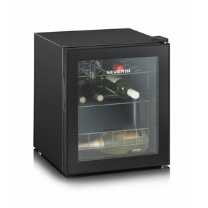 Severin KS 9889 wine cooler Freestanding Black 15 bottle(s)