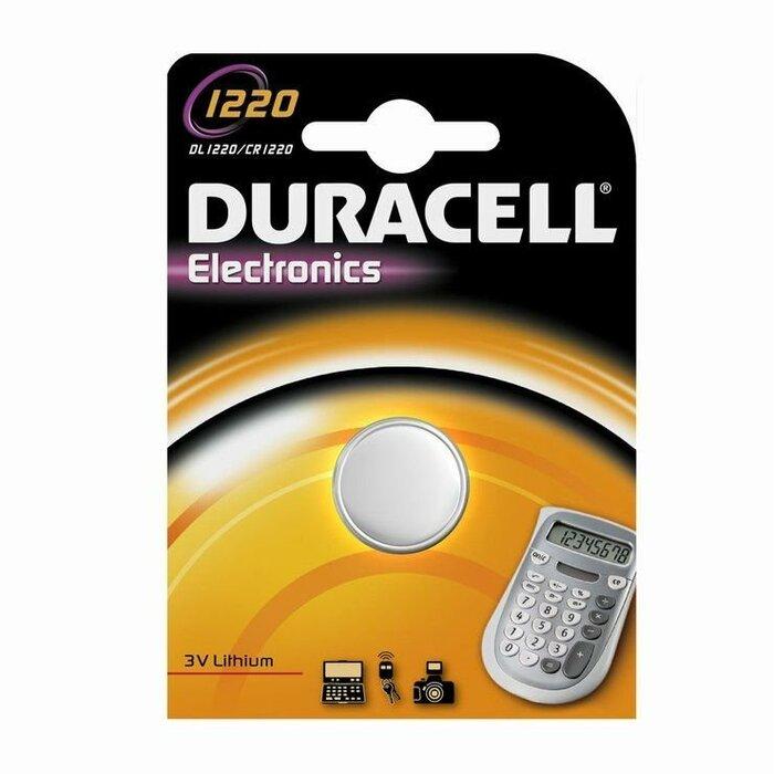 Duracell CR1220 Litija 3V Baterija