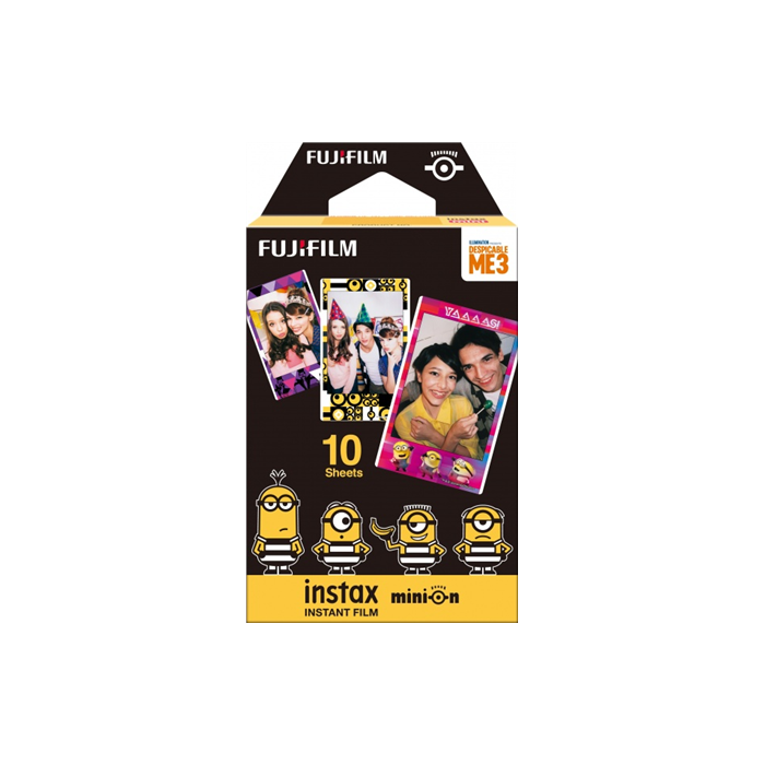 Fujifilm Instax Mini Minion (Movie version) Instant film Quantity 10