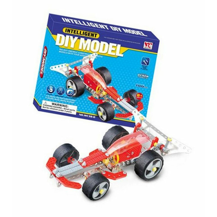 Intelligent DIY Model - Sport Car, 186 Pieces