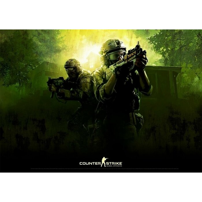 Counter-Strike: Global Offensive - Green Poster
