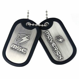 Metal Gear Rising: Revengeance - Maverick Logo Dog Tag