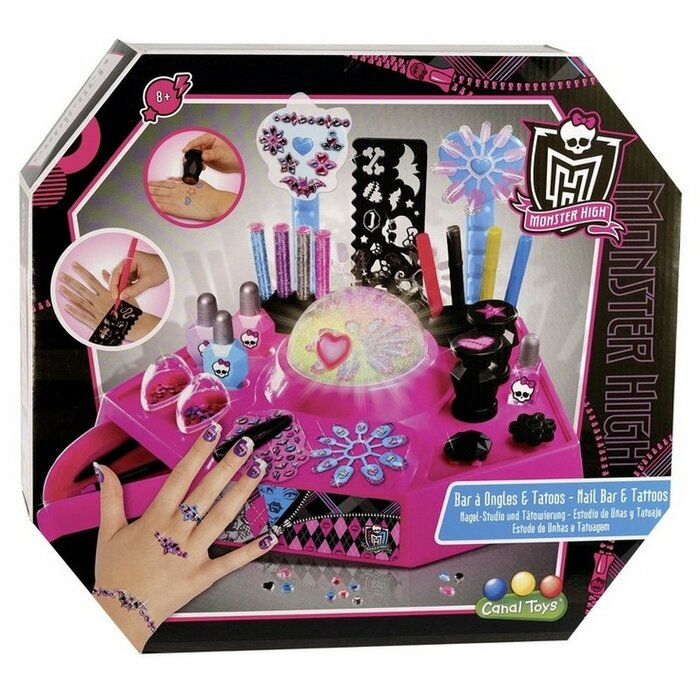 Monster High - Nail Bar And Tattoos Studio