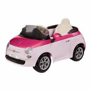 Fiat 500 Pink/Fucsia W/Remote Control (6V)