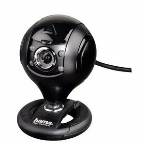 Hama 00053950 webcam 1.3 MP 1280 x 1024 pixels USB 2.0 Black