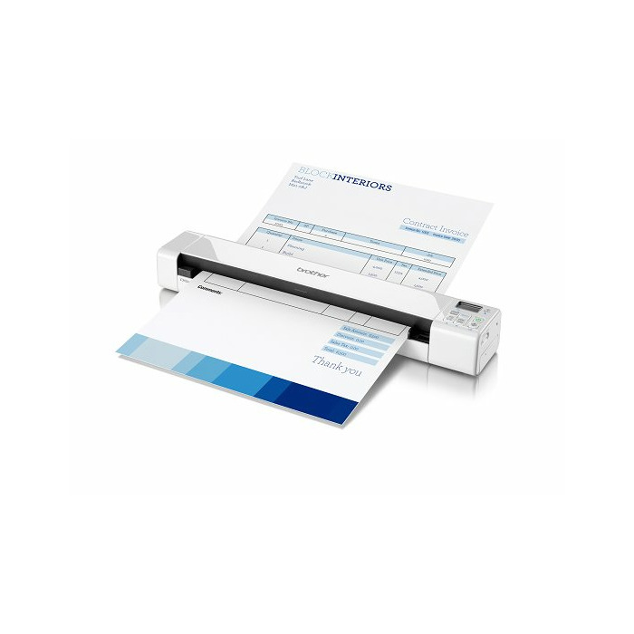 Brother DS-820W scanner 600 x 600 DPI Sheet-fed scanner White A4