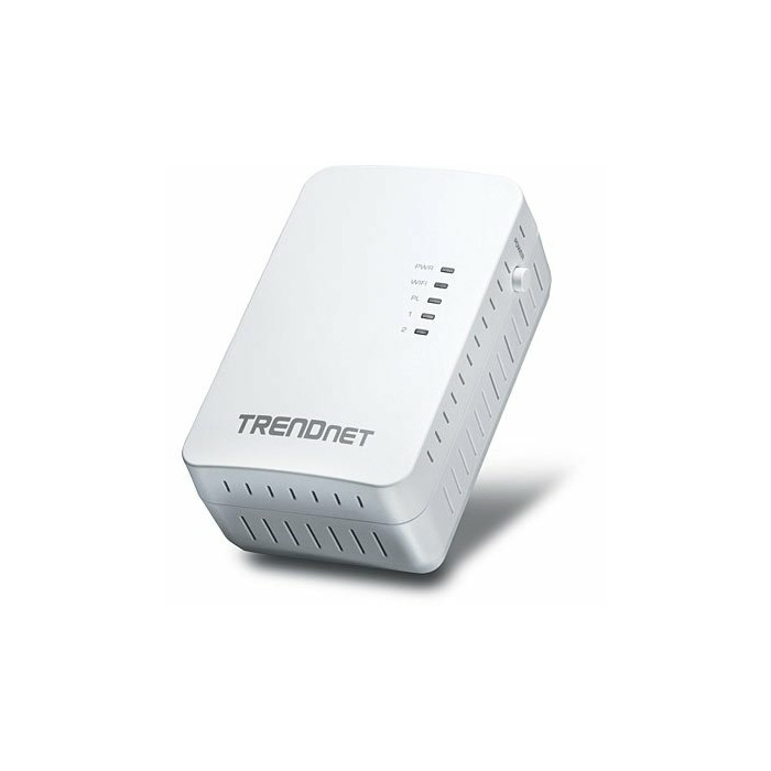 Trendnet Powerline 500 AV2 Wireless Access Point 500 Mbit/s Ethernet LAN Wi-Fi White 1 pc(s)