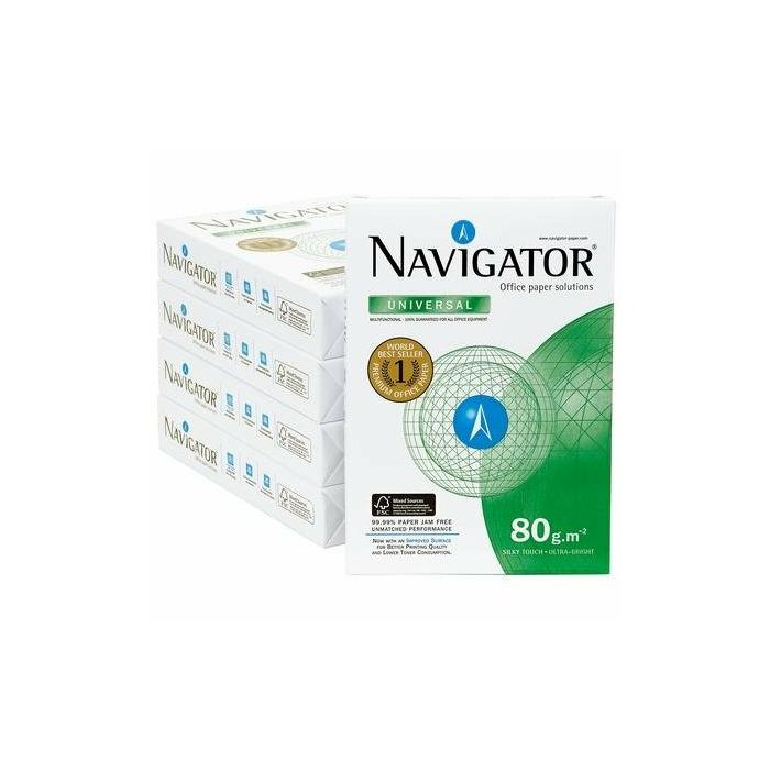Papīrs Navigator A4, 80G, 500loksnes, A-Premium klase