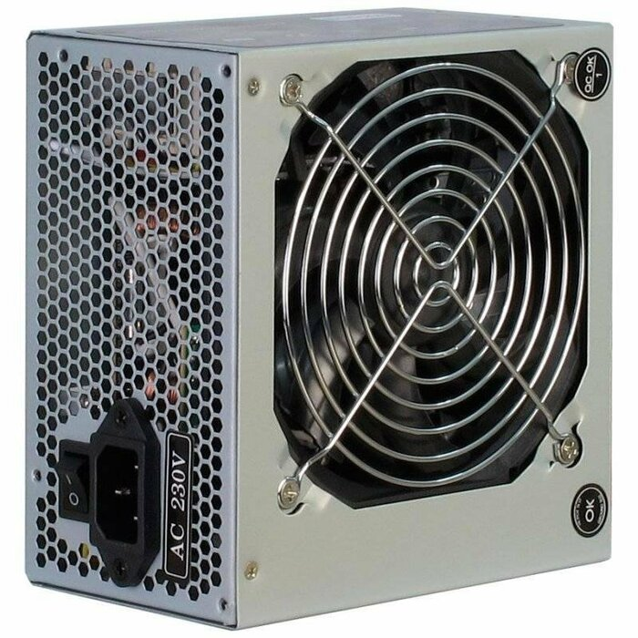 INTER-TECH PSU SL-500K, 500W, 120mm fan, bulk
