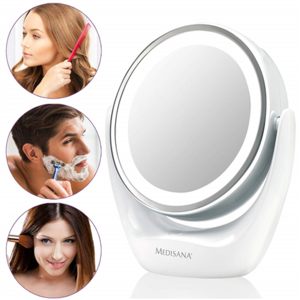 Medisana High-quality chrome finish,  CM 835  2-in-1 Cosmetics Mirror, 12 cm