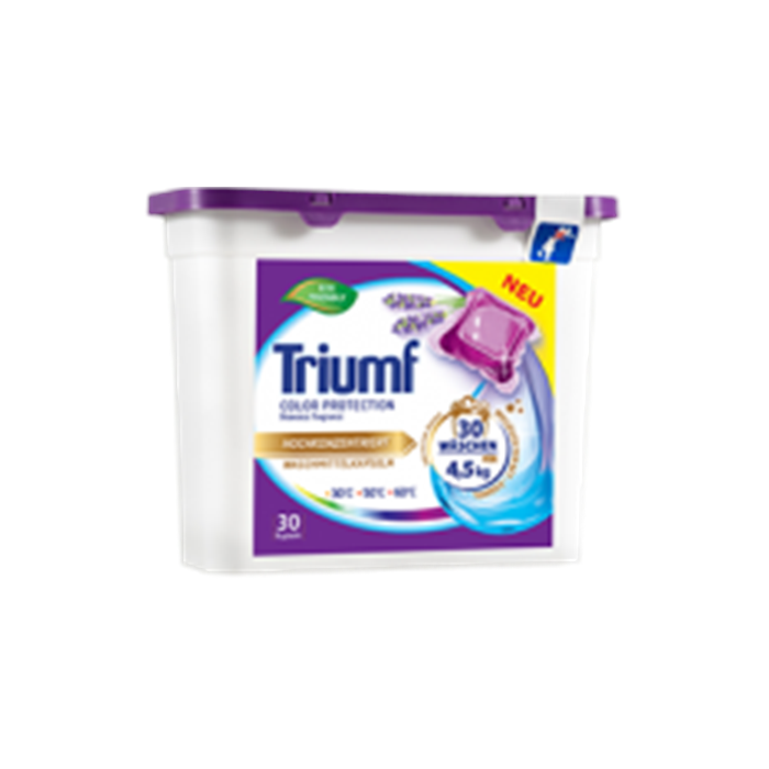 TRIUMF Color washing capsules 30 pcs TRCOLOR 30