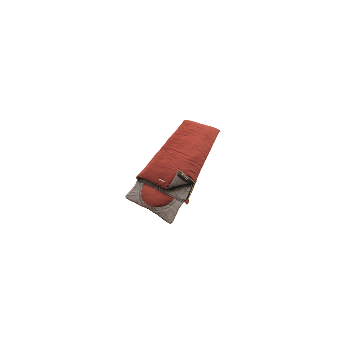Outwell Contour Ochre Red, Sleeping bag, 225x90 cm, 7/2/-13 °C