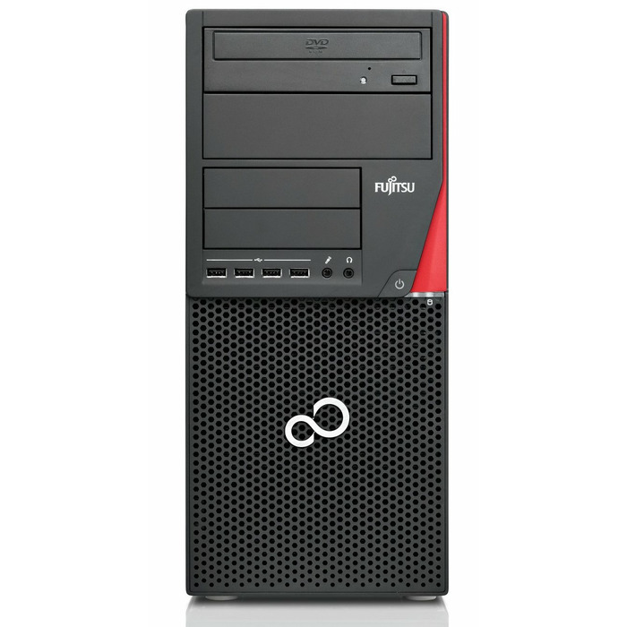 Fujitsu ESPRIMO P720 Tower G3220, 4GB RAM, 500GB HDD, SC reader, DVDRW, Windows 7 Pro