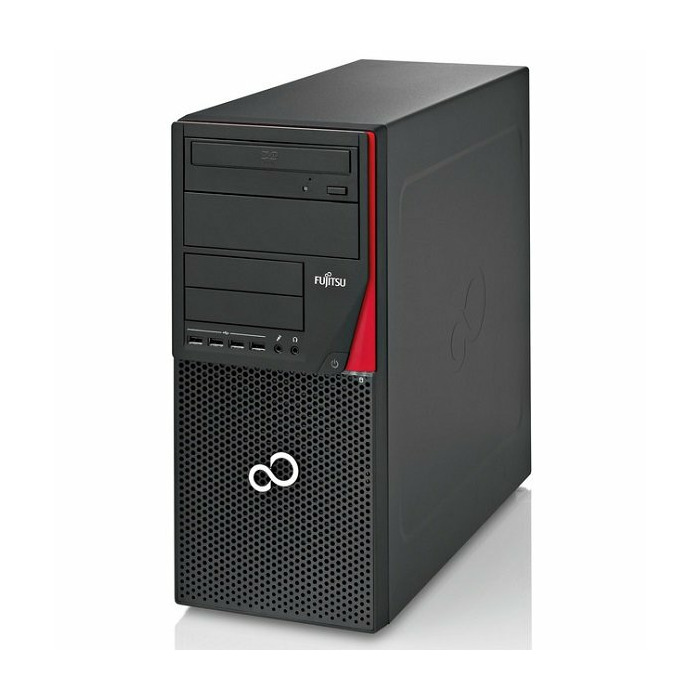 Fujitsu ESPRIMO P720 Tower G3220, 8GB RAM, 240GB SSD, SC reader, DVDRW, Windows 7 Pro