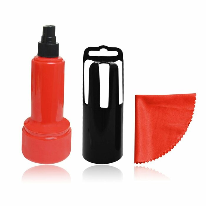 VAKOSS Cleaning Kit for LCD, 60ml gel, cloth, red