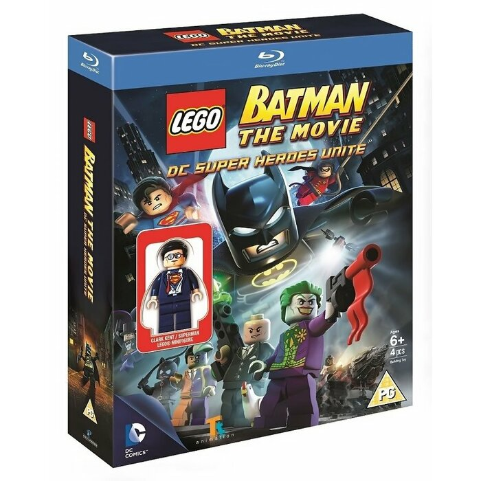 BD LEGO Batman: The Movie - DC Super Heroes Unite incl. Clark Kent Minifigure