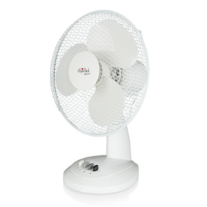 Gallet VEN9 Desk Fan, Number of speeds 2, 23 W, Oscillation, Diameter 23 cm, White