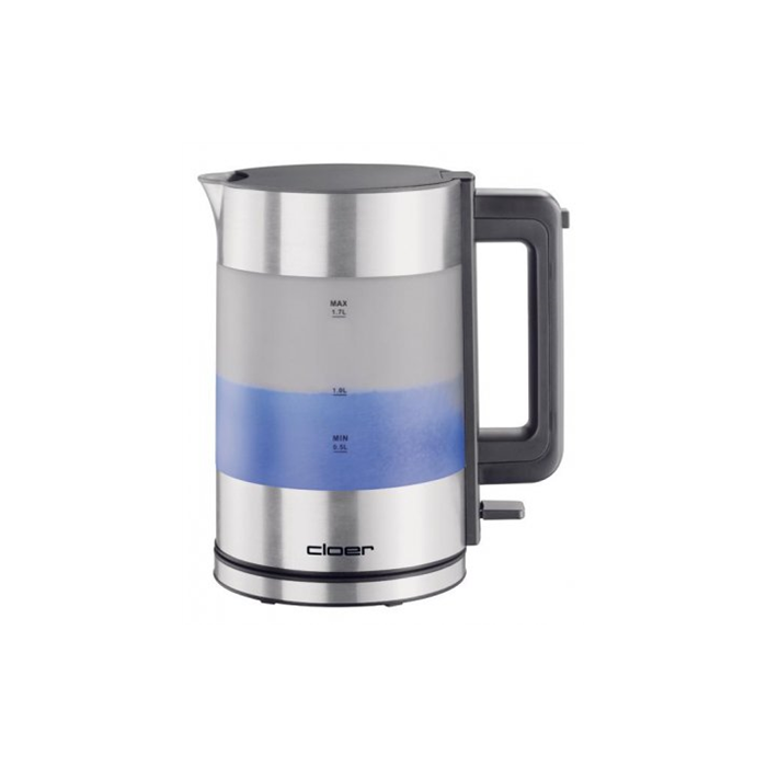 CLoer Kettle 4019 Stainless steel, 1800 W, 360° rotational base, 1.7 L