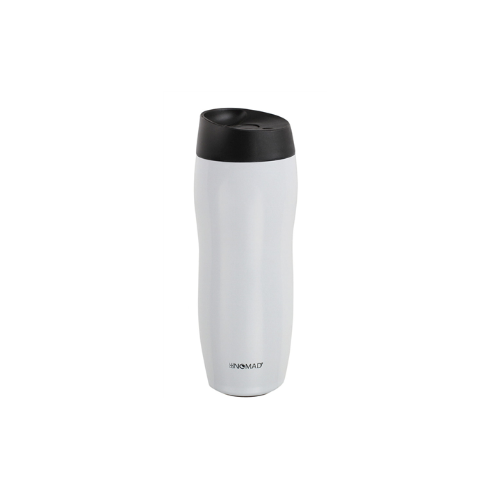 BeNOMAD Vacuum flask mug MEN335W Thermo cup, White, Capacity 0.42 L, Diameter 7 cm