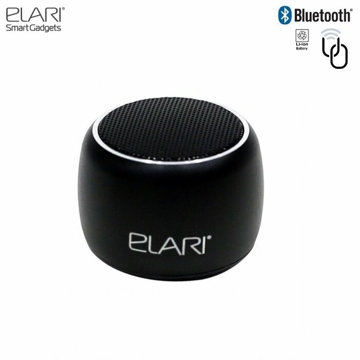 Elari NanoBeat Bluetooth 3W Speaker with Stereo Dual-Mode Pairing Technology Black