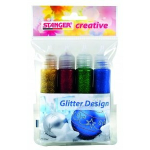 STANGER Gliter Design, Set 4x25 ml, 960032