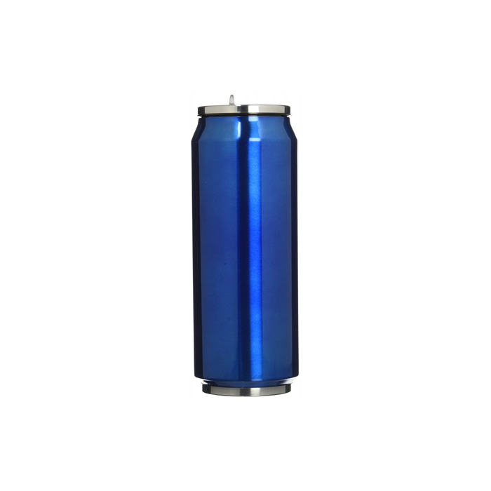 Yoko Design Isotherm tin can, Shiny Blue, Capacity 0.5 L, Diameter 6.9 cm, 500 ml