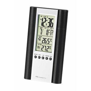 Fiesta FSTT04B Цифровая Mетеостанция Indoor / Outdoor / Термометр / Календарь / Часы / Будильник / LCD / Черный
