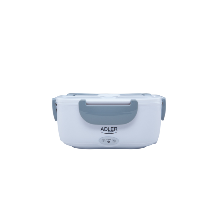 Adler Lunch Box AD 4474 Electric powered, White/ grey, Capacity 1.1 L,