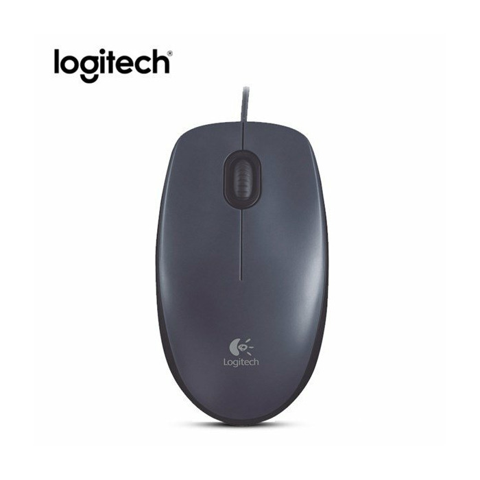 Logitech Mouse M90 mice USB Optical 1000 DPI Black