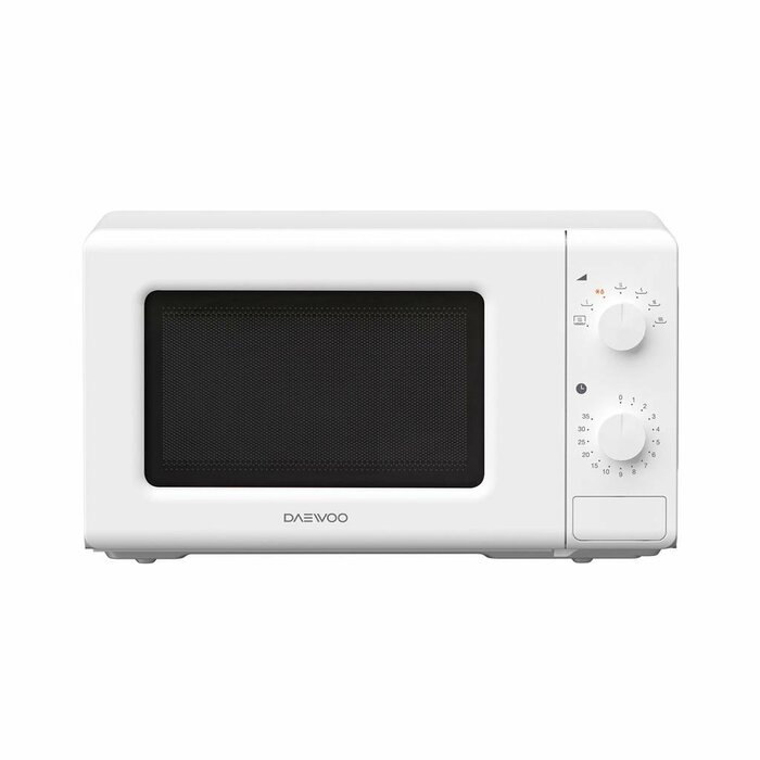 Microwave oven Daewoo KOR6620TW | 20L | 700W | Mechanical | White