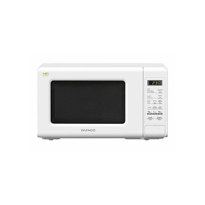 Microwave oven Daewoo KOR6S2BW | 20L | 800W | Electronic | White