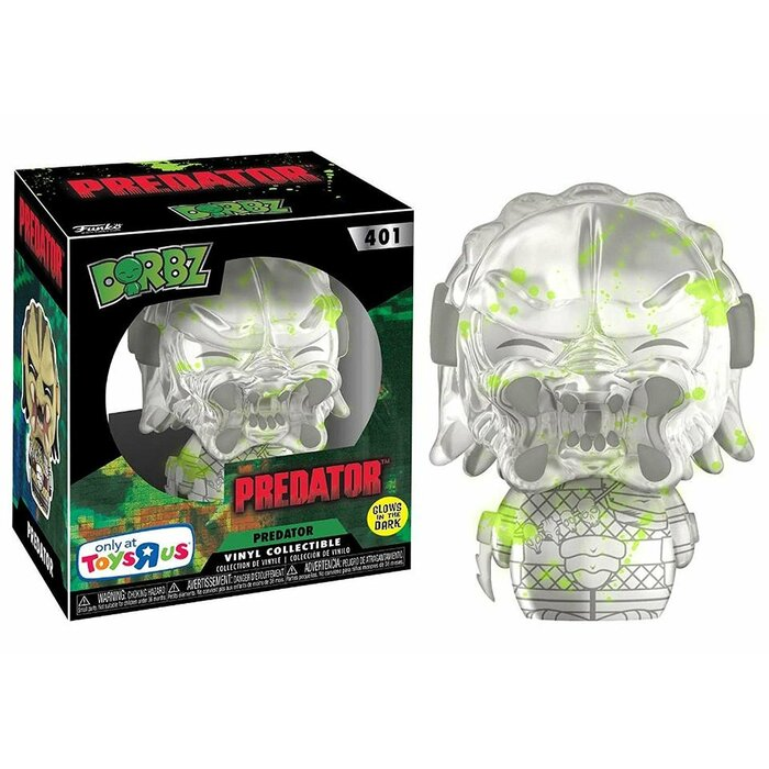 FUNKO DORBZ PREDATOR INVISIBLE BLOOD SPLATTERED EXCLUSIVE FREE DORBZ PROTECTOR