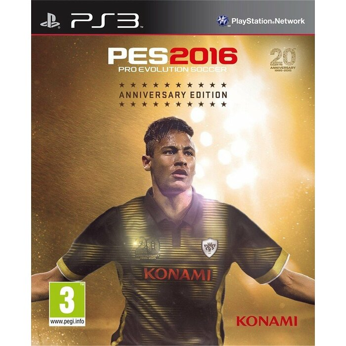 PS3 Pro Evolution Soccer 2016 20th Anniversary Edition