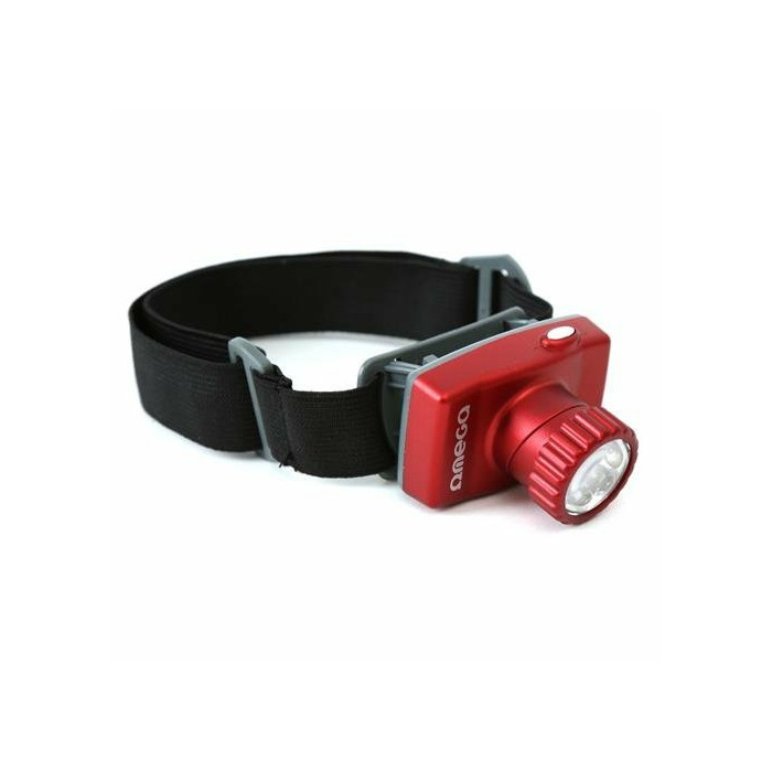 Omega OHL8 Universal Head torch with 8 white LED diodes / 7 Operating modes
