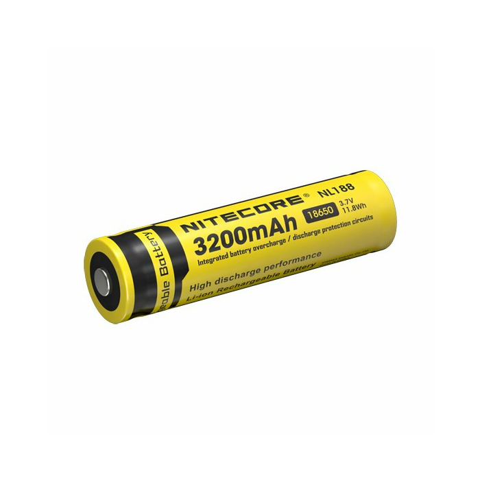 Nitecore NL188 Lithium-Ion 3200mAh 3V rechargeable battery