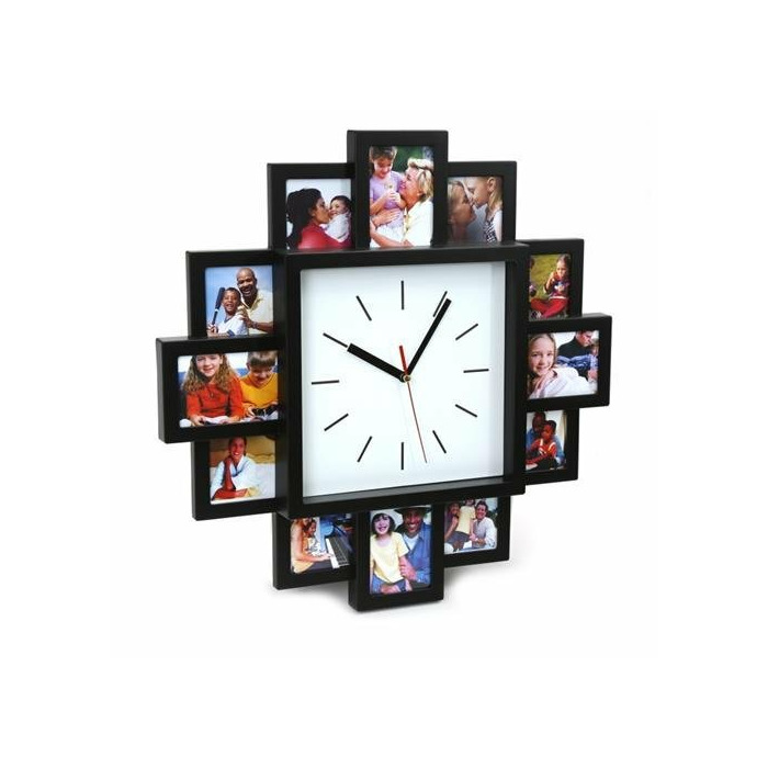 Platinet Pzssc Sunset Wall Clock With Photo Frame Pzssc Watches