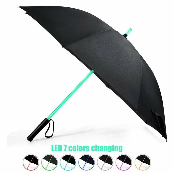 LED Umbrella with torch