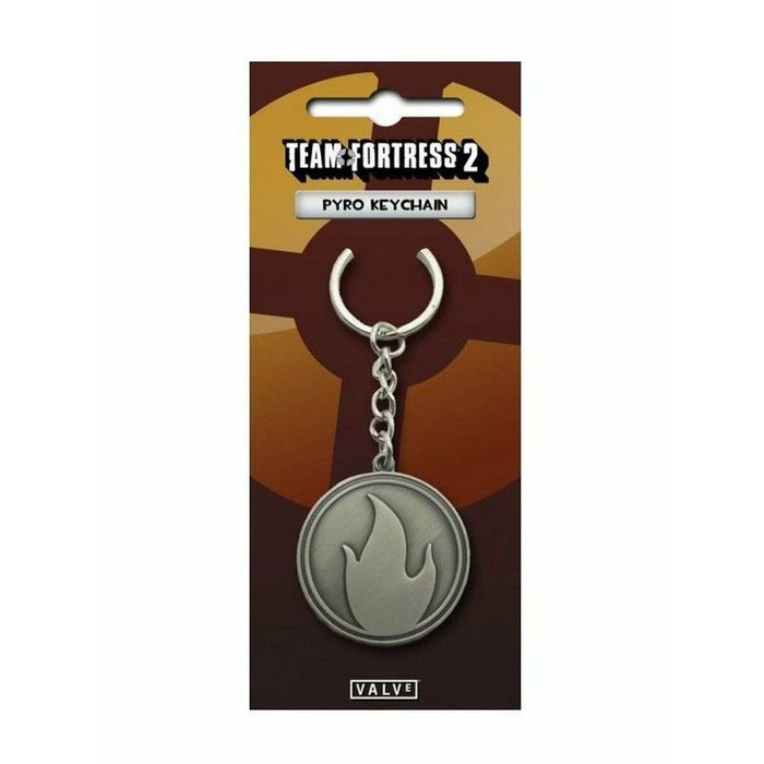 Team Fortress 2 - Pyro Metal Keychain